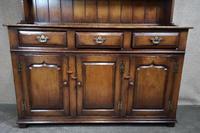 Titchmarsh & Goodwin Oak Dresser & Rack (5 of 15)