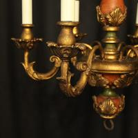 Florentine 6 Light Polychrome Chandelier (4 of 10)