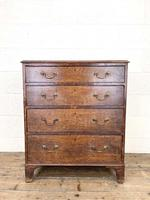 Georgian Oak Small Chest of Drawers (3 of 10)