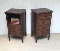 Pair of French Oak Bedside Cabinets (5 of 10)