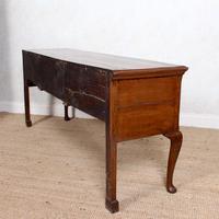 Georgian Oak Dresser Base Sideboard Mahogany George III (6 of 14)