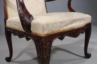 An Elegant Early 20th Century Mahogany Gainsborough Chair (7 of 7)