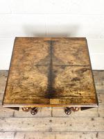 19th Century Walnut Drop Leaf Side Table (6 of 11)
