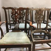 Set of 18th Century Mahogany Dining Chairs (21 of 21)