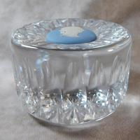Wedgwood Jasperware & Crystal Paperweight (2 of 5)