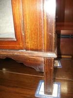 Small Edwardian Inlaid Mahogany Cabinet (3 of 4)