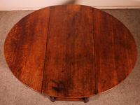 Gateleg Table in Oak -18th Century (10 of 11)