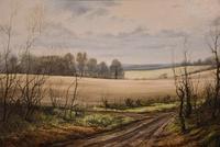 "Oil Painting by Mervyn Goode ""January Twigs"" (3 of 5)"
