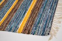 1960's Vintage Scandinavian Wool Rug (9 of 12)