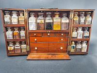 Mahogany Apothecary Cabinet (2 of 8)
