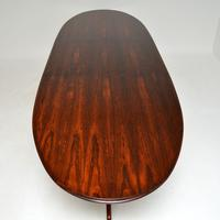 Rosewood & Leather Dining Table & Chairs by AJ Milne for Heals (18 of 22)