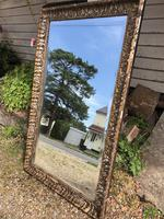 Antique French Mirror with Gesso Moulding (2 of 10)