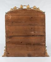 Large English Victorian Carved Giltwood Overmantle Mirror (7 of 7)