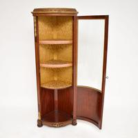 French Inlaid  Marquetry Corner Cabinet (3 of 8)