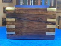 Victorian  Rosewood Writing Slope (5 of 20)