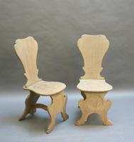 Pair of George III Hall Chairs (4 of 5)