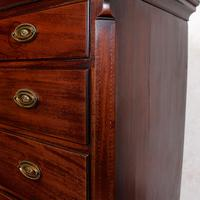 Georgian Chest on Chest of Drawers Inlaid Mahogany (8 of 12)