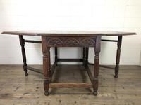 Early 20th Century Oak Gateleg Table (10 of 12)