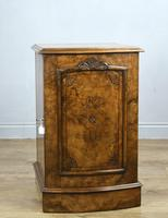 Fine Pair of Victorian Burr Walnut Bedside Cabinets (5 of 8)
