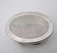 Impressive Victorian silver table snuff box Henry William Dee London 1877 (8 of 13)