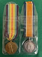 South Wales Border Private William Scott Medals & Death Plaque (4 of 10)