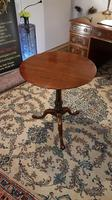 Fine Quality Plum Pudding Wine Table or Lamp Table with Birdcage Operation (3 of 7)