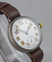 1923 Borgel Cased Silver Trench Watch (4 of 5)