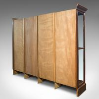 Huge Antique Shop Cabinet, English, Retail Display Showcase, Victorian c.1900 (6 of 10)