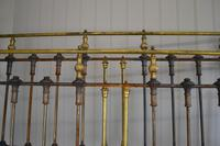 Victorian Brass & Iron King Size 5ft Antique Bed Frame - Fully Restored in Your Choice of Colour (7 of 15)