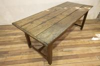 George III Oak Country Refectory Farmhouse Table (6 of 14)