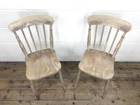 Pair of 19th Century Ash & Elm Chairs (4 of 10)