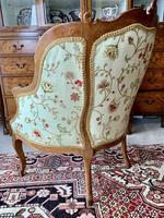 French Walnut Tub Chair (5 of 15)