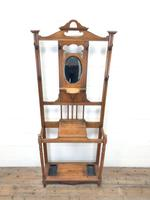 Antique Oak Hall Stand (2 of 11)