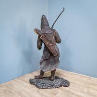 Japanese Bronze Figure (7 of 10)