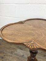Antique Mahogany Tripod Side Table (6 of 9)
