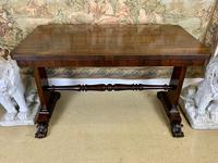 19th Century Rosewood Library Table (5 of 5)