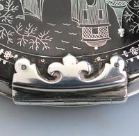 Fine Charles II Solid Silver, Pique & Tortoiseshell Snuff Box C.1680 (4 of 11)