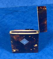 Victorian Tortoiseshell Card Case With Silver Inlay (12 of 13)