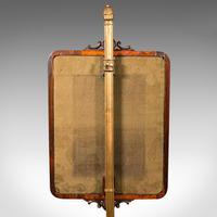 Antique Fireside Pole Screen, English, Rosewood, Needlepoint, William IV c.1830 (10 of 12)
