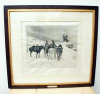 The Generals in the Snow by Jle Meissonier  Framed Print (11 of 13)