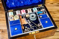 Burr Walnut Work Box Victorian 1870 (8 of 9)