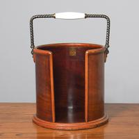 Victorian Mahogany Plate Bucket by Hussey's (2 of 8)