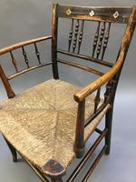 Regency Painted Sussex Chair (10 of 12)