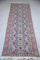 Pink Floral Eastern Wool Runner (5 of 12)