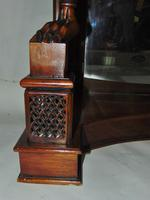 Empire Style Carved Mahogany Console Table (5 of 11)