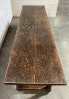 Wonderful Antique Large Refectory Farmhouse Dining Table (9 of 31)