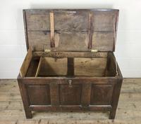 Antique 18th Century Oak Coffer (12 of 16)