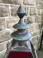 Antique Glazed Copper Lantern (2 of 8)