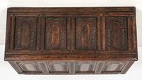 Wonderful Carved Oak Coffer (4 of 10)
