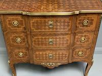 Small French kingwood parquetry chest of drawers (4 of 7)